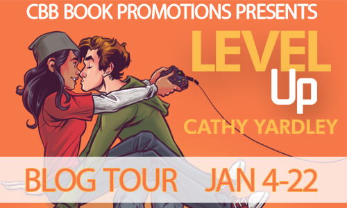 Level Up By Cathy Yardley Tour Guest Post, Review & Giveaway.