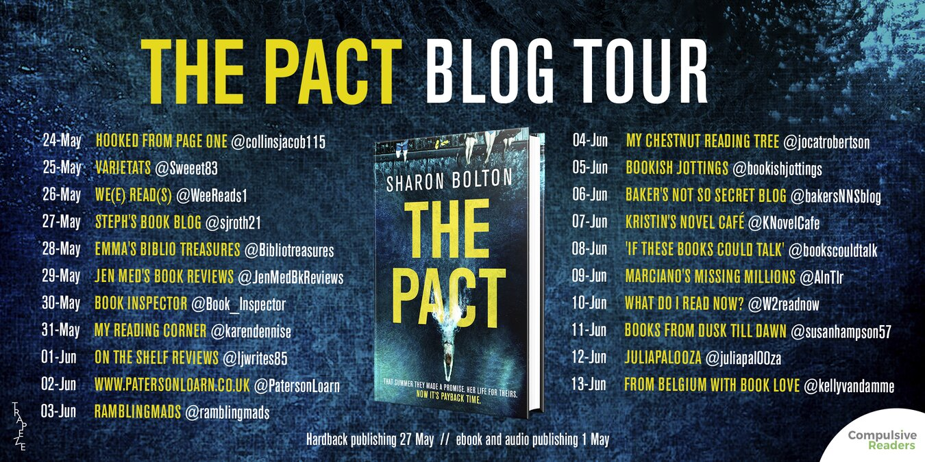 Book Tour: The Pact by Sharon Bolton